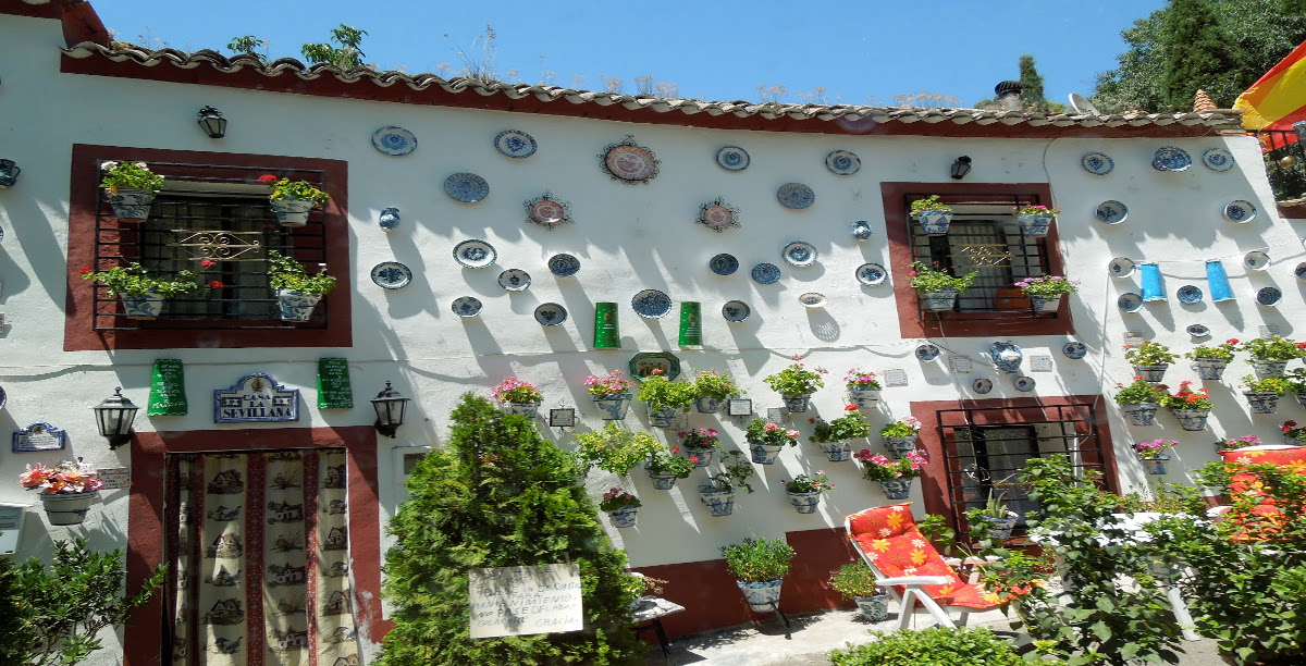 Barrio de Sacromonte. Granada