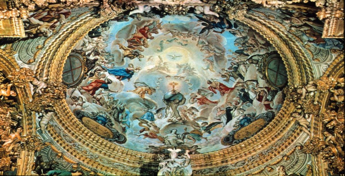 Fresco. Cartuja de Granada