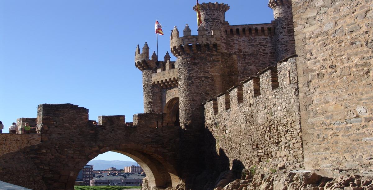Castillo templario de Ponferrada 1