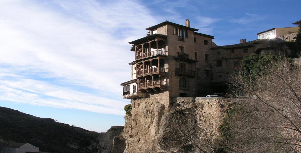 Casas colgantes.Cuenca
