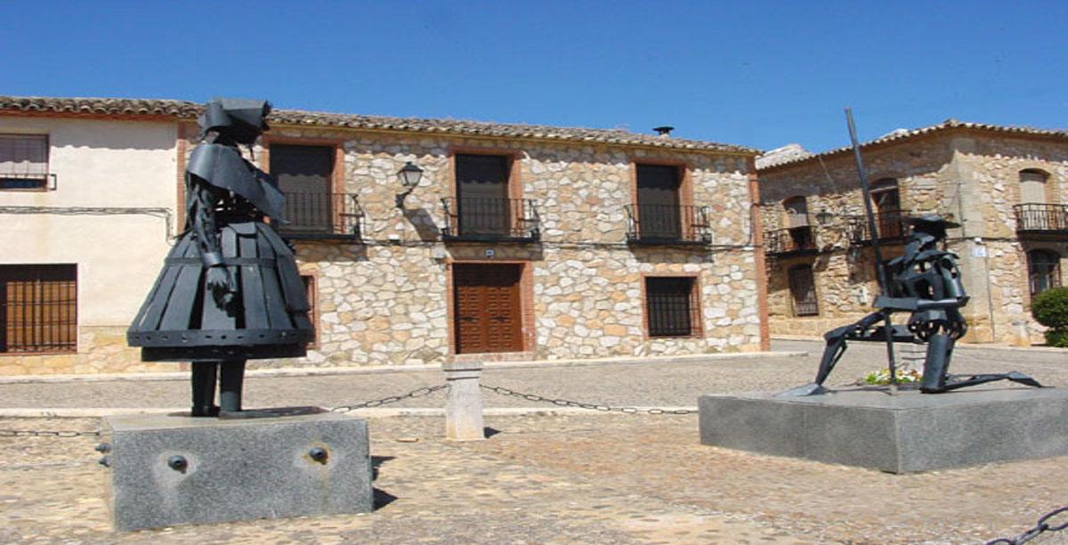 Don Quijote y Dulcinea. El Toboso.
