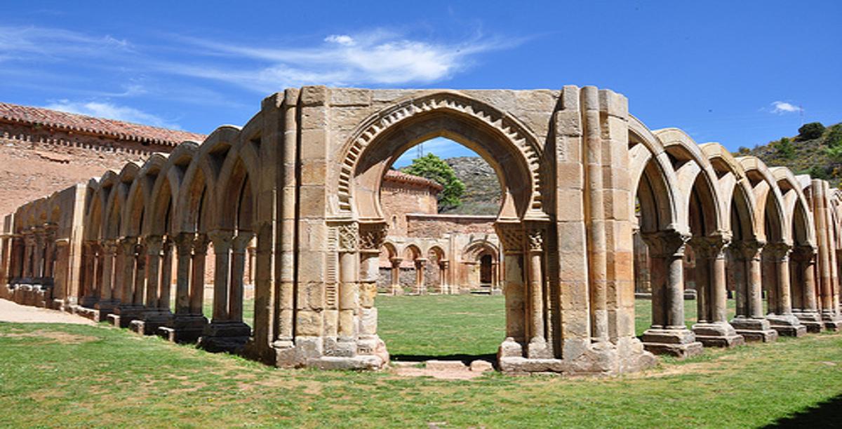 Monasterio san Juan de Duero.Soria