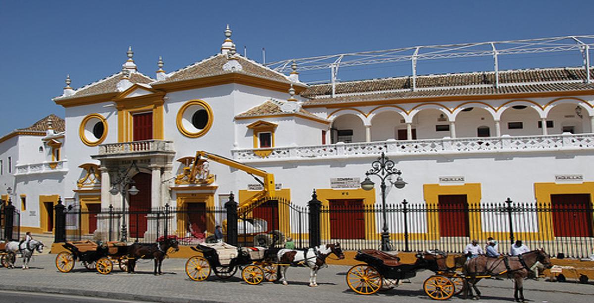 Plaza deToros. Sevilla