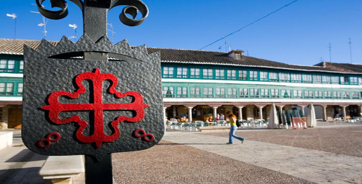 Plaza mayor. Almagro