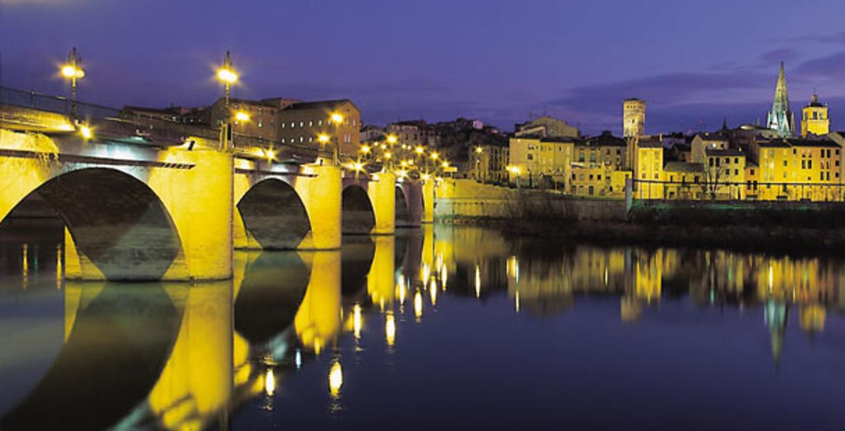 Puente piedra. Logroño
