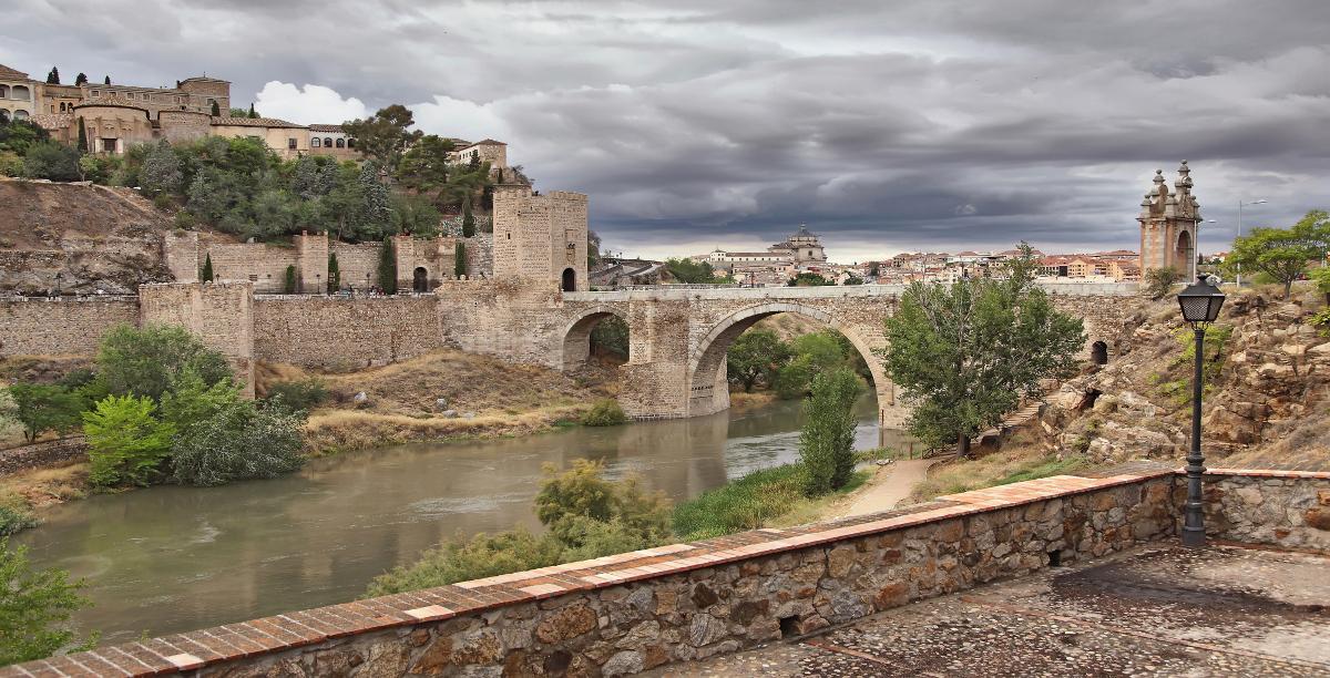 Puente de Alcantara. Toledo