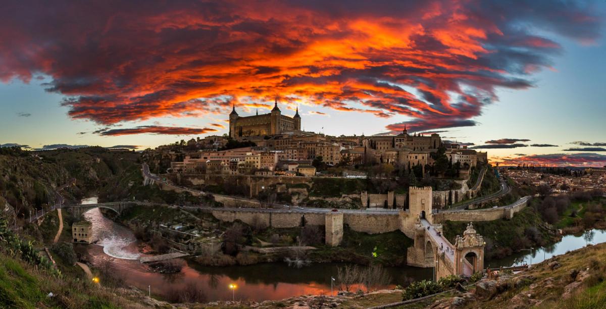 Atardecer. Toledo